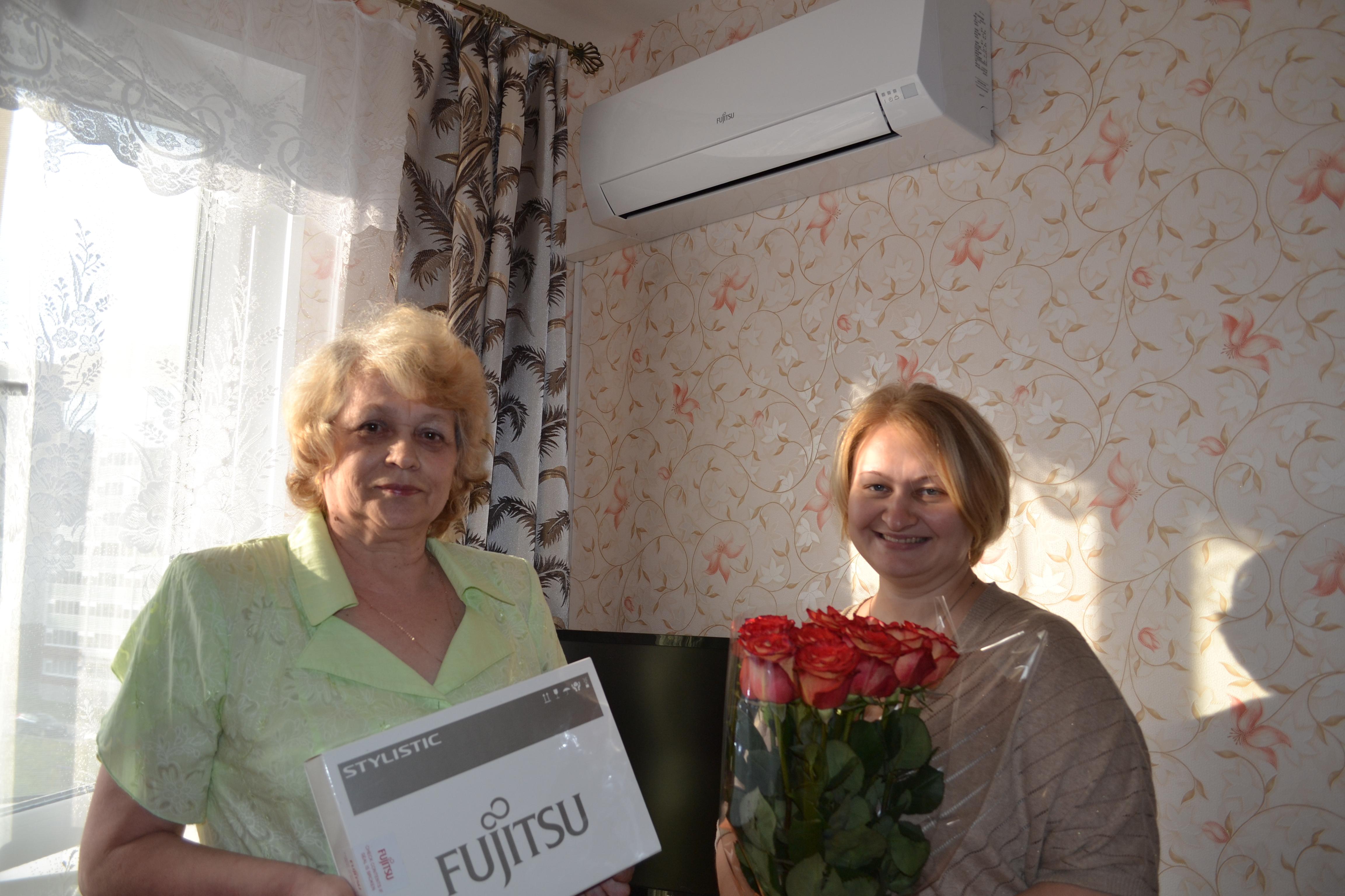 Приветствуем очередного победителя акции «Комфорт с интеллектом от Fujitsu»!