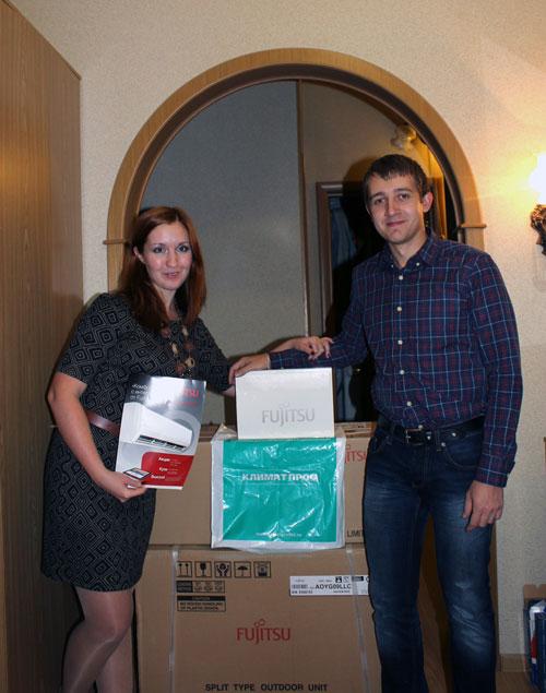 Победители акции от Fujitsu в Нижнем Новгороде