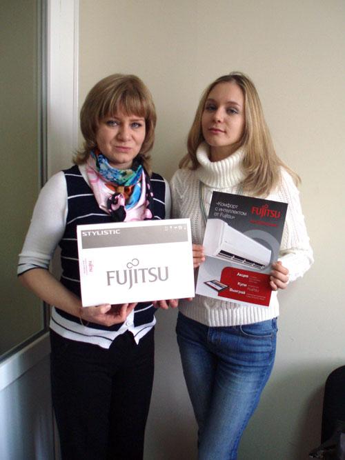 Победитель акции от Fujitsu в Нижнем Новгороде