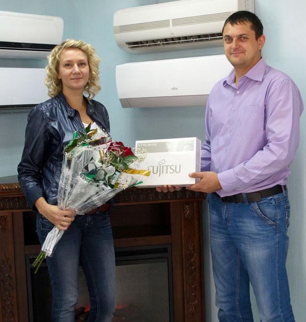 Приветствуем очередного победителя всероссийской акции «Комфорт с интеллектом от FUJITSU»!